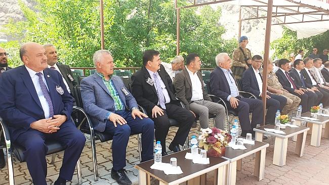 Ağbaba, Başbağlar Katliamı'nın 26. Yıldönümü nedeniyle düzenlenen anma programına katıldı