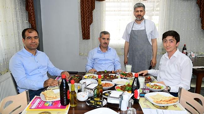 Başkan Çınar,'Yemeklerimizi Dünyaya Tanıtacağız'