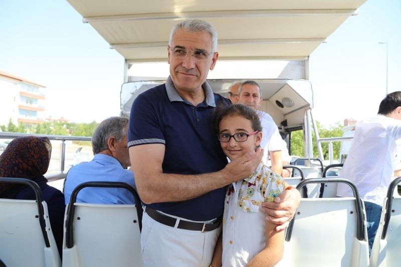 Başkan Güder, Çocuklarla Tarihe Yolculuk Gezisine Katıldı