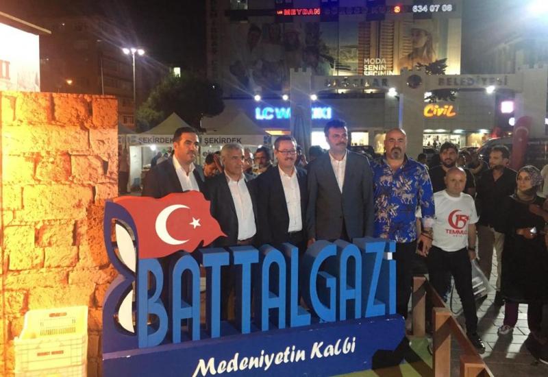 Başkan Güder, İstanbul'da 1. Kayısı Festivaline Katıldı
