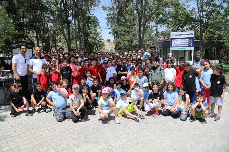 Başkan Güder, öğrencilerle piknikte bir araya geldi