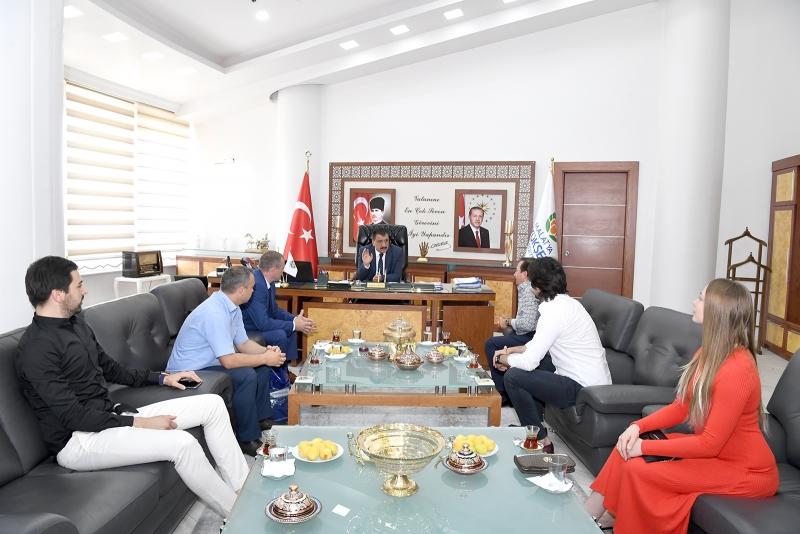 Başkan Gürkan Belarus Heyetini Kabul Etti