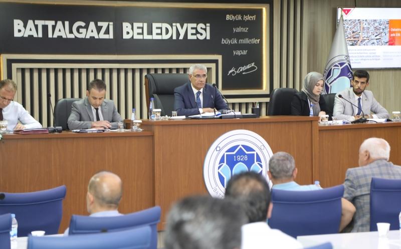 Battalgazi Belediye Meclisi, Eylül ayı olağan toplantısını gerçekleştirdi