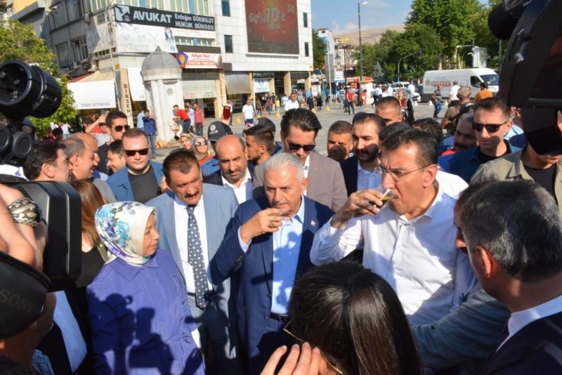 Binali Yıldırım Malatya'yı Ziyaret Etti