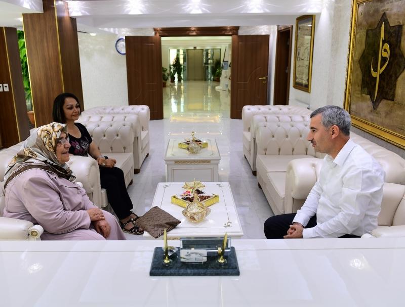 Başkan Çınar'ı Duygulandıran Ziyaret