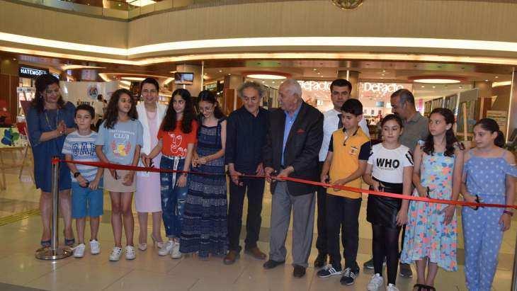 Çocuk Atölyesi İkinci yıl sonu sergisi açıldı