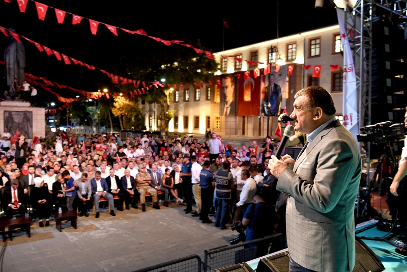 Demokrasi Bayramı Malatya'da coşkuyla kutlandı