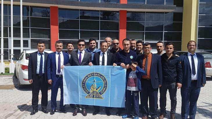 DHMİ'den Yeni Malatyaspora Destek Ziyareti