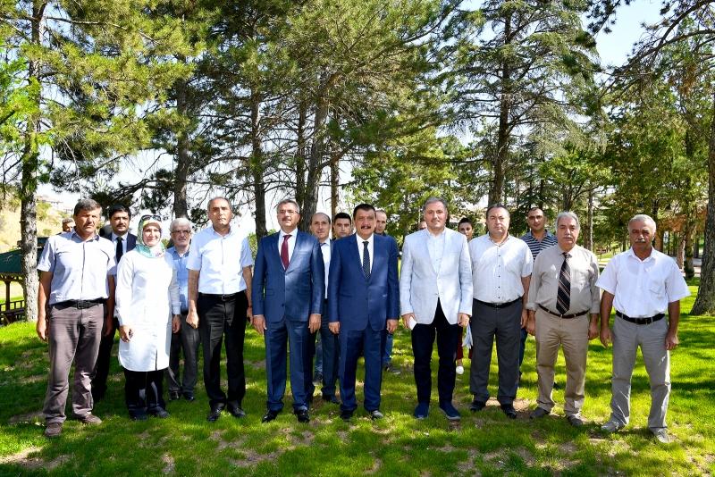 Gürkan ve Çakır, Tabiat Parkı 1. Etap çalışmalarını İnceledi