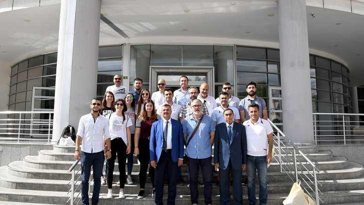 İspanya Pedreguer Belediye Başkanı Ferrus Başkan Vekili Demez'i Ziyaret Etti