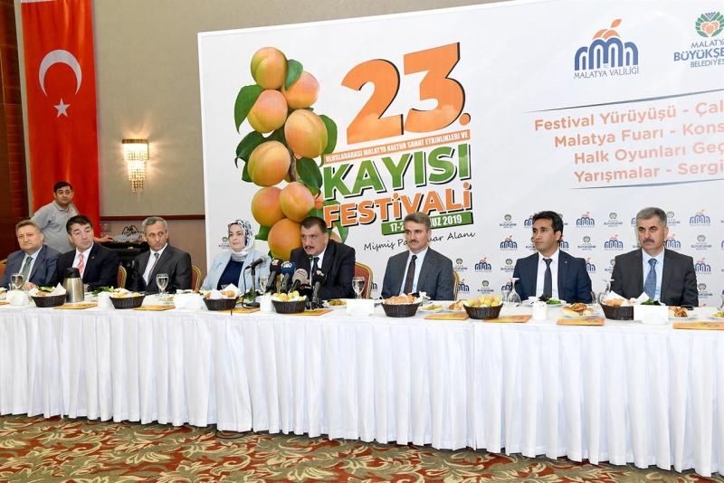 Malatya Festival Coşkusunu Yaşamaya Hazırlanıyor