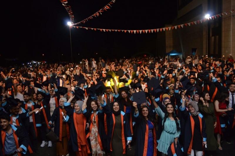 Malatya Turgut Özal Üniversitesinde 1. Mezuniyet Töreni yapıldı