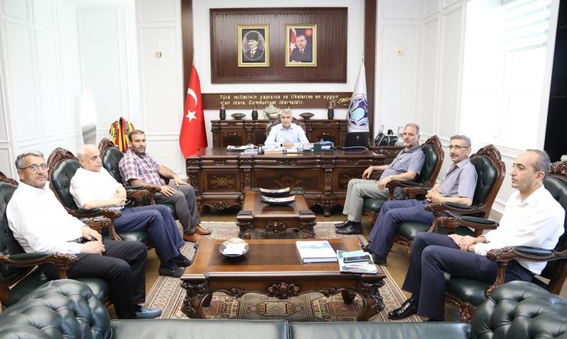 Mazlum-Der Başkanı Beyhan'dan Başkan Güder'e Ziyaret