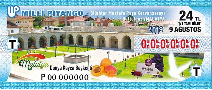 'Medeniyetin Kalbi' Battalgazi, Piyango Biletinin Üzerine Taşındı