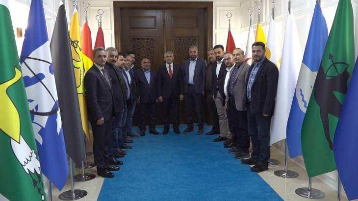 Müsiad Malatya Şube Başkanı Boyraz, Başkan Güder'i Ziyaret Etti