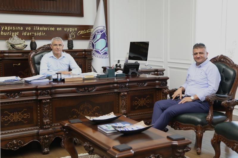 Prof. Dr. Aktürk, Başkan Güder İle Biraraya Geldi