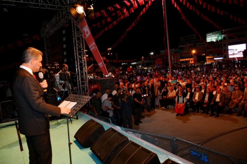 '15 Temmuz Demokrasinin ve Milli İradenin Zaferidir'