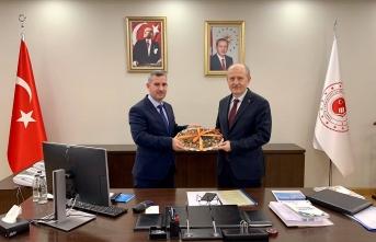 Başkan Çınar, Yeşilyurt'un 2023 Vizyonunu İçin Ankara'da