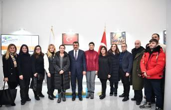 Çukur Dizisi Oyuncularından Başkan Gürkan'a Ziyaret
