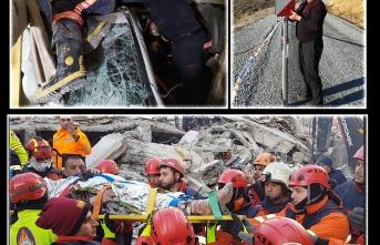 MBB Deprem Zedelerin Yaralarını Sarmaya Devam Ediyor