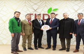 MKHE Üreticileri Birliğinden  TKDK İl Koordinatörü Murat Tunç'a Ziyaret