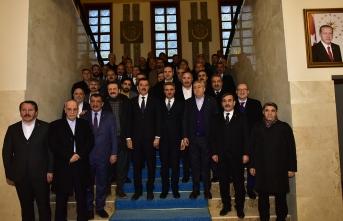 TOBB Başkanı RifatHisarcıklıoğlu Malatya'da