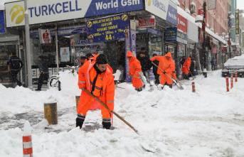 Battalgazi Belediyesi Kar Mücadelesinde Tam Not Aldı