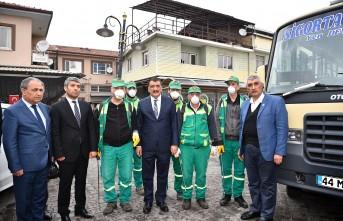Başkan Gürkan,'Yerel yönetimler olarak vatandaşlarımızın sağlığını düşünmeyiz'