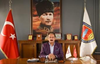 Başkan Keskin'in  Çanakkale Zaferi Mesajı