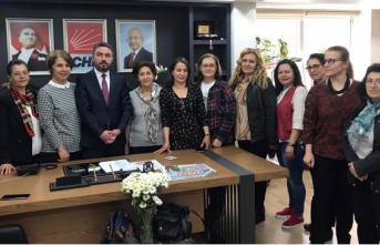 CHP Kadın Kollarında Görev Değişimi