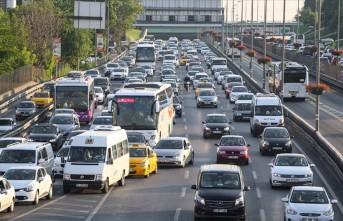 Malatya'da Motorlu Araç Sayısı  177 Bin 683'e Ulaştı