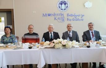 TVHB Oda Başkanlarından Battalgazi'ye Övgü