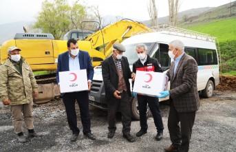 Battalgazi Belediyesi Depremzede Aileleri De Unutmadı