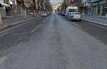 Malatya cadde ve sokaklarda korona sessizliği