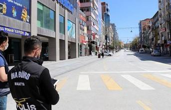 Malatya'da Polislerden Drone İle Denetim