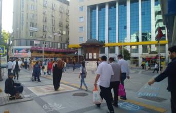 Kısıtlama Sonrası Malatya'da cadde ve sokaklarda yoğunluk