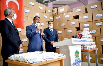 Mil-May Tekstil  600 Bin Maskeyi MBB'e Teslim Etti
