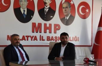 Sadıkoğlu'dan Başkan Samanlı'ya Ziyaret