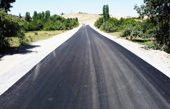 Hanımınçiftliği Mahallesi'ndeki Yeni İmar Yolunda Asfalt Serimi Tamamlandı
