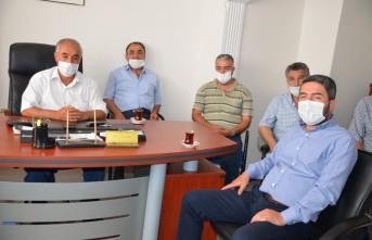 Başkan Kiraz'dan Kahveci Esnafına Ziyaret