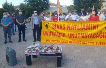 CHP'den Sivas Katliamı Mesajı