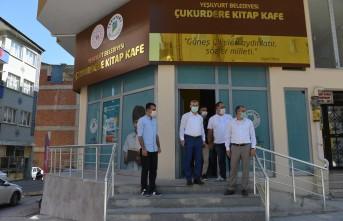 Yeşilyurt Belediyesi Çukurdere Kitap Kafe Hizmet Binası Tamamlandı