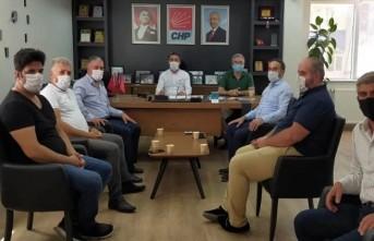 Başkan Kiraz, Kantin İşletmecilerinin Sıkıntılarını Dinledi