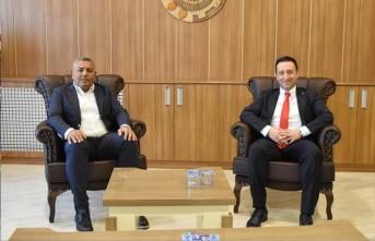 Müdür Tırpan'dan Başkan Sadıkoğlu'na ziyaret