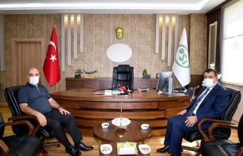Başkan Gürkan'dan DSİ 9. Bölge Müdürlüğüne Ziyaret