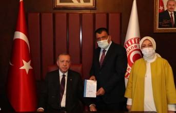 Cumhurbaşkanı Recep Tayyip Erdoğan, Gürkan Ve Çalık'ı Kabul Etti