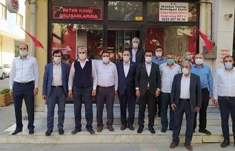 Yeniden Refah'tan Muhtarlara Ziyaret