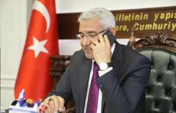 """Başkan Güder, TRT GAP Radyosu'nda """"Birlikte Başaracağız"""" Projesini Anlattı"""