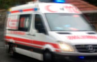 İnşaat İşçisi İskeleden Beton Zemine Düştü