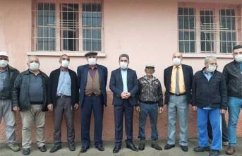 Kiraz ve CHP Heyeti Depremzedelerin Derdini Dinledi